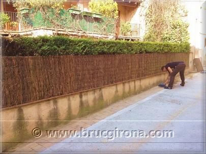 Brezo ecol gico vallas de brezo y ocultaciones de jardin - Vallas para cercados ...